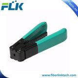 Стриппер кабеля падения оборудования режущего инструмента оптического волокна FTTH