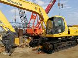 Excavador original usado de KOMATSU 20ton del excavador de la correa eslabonada de KOMATSU PC200-6