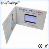 Tarjeta de felicitación de 7 pulgadas foto Video reproductor de vídeo (Folleto DPF-XH-070V).