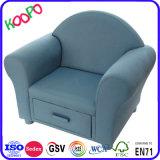 Casa moderna sala de estar mobiliário crianças tecido/Gaveta Sofá/gaveta cadeira (SF-49)
