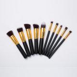 10ПК на базе профессиональных косметических макияж щетки с высоким качеством чехол
