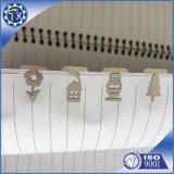 Servizio di montaggio di taglio del laser, segnalibri dell'acciaio inossidabile dello spazio in bianco della lamiera sottile sulla vendita