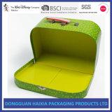 Твердым чемодан напечатанный картоном для карточек игры игрушки детей