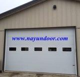 Motorizado eléctrico automático de sobrecarga de puerta de garaje seccionales industriales