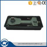 Yakoのハードウェアの鋼鉄床の台紙のガラスドア90度の調節