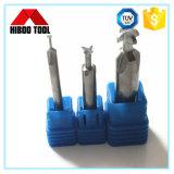 Coupeurs de fraisage d'outils de carbure de fente de t de haute précision de la Chine Hiboo