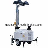 Wassergekühlter beweglicher Beleuchtung-Dieselaufsatz mit Perkins/Cummins Engine