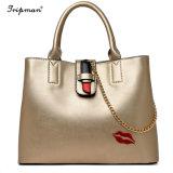 Senhoras Tote bag bolsa barata mais fácil para corresponder PU de bolsas de couro