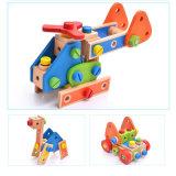 As crianças de madeira a montagem de madeira robótico fingir brinquedos educativos de jogos