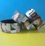 Neuer Form HD gedruckter SilikonWristband Bracelt