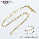 44635 Xuping mayorista de moda de joyería 14K Gold-Plated Collar de los hombres de aleación de cobre en el medio ambiente