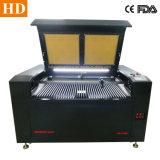 Acrílicos máquina de corte a laser de plástico de madeira 1390