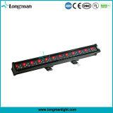 LED 조명 시설/60X3w는 LED 벽 세척 빛을 방수 처리한다