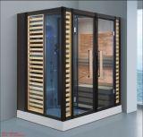 La conception populaire rectangle combiné vapeur sauna avec douche (à-d8880)