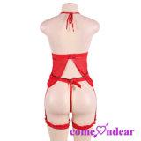 Четыре размера заводе низкая MOQ красный женщин Sexy белье