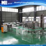 Abgefüllte Mineralwasser-Produktionszweige beenden
