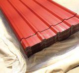 Популярный цвет стальной пластины с покрытием из гофрированного картона PPGL PPGI/кровельных листов