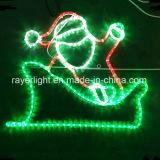 Corde de LED Le jardin et la décoration de la rue d'éclairage LED de l'hôtel Santa Claus