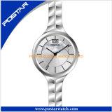 Het hete Horloge van het Kwarts van de Fabriek van de Verkoop met de Wijzerplaat van de Zwabber