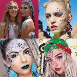Joyas de maquillaje rostro Festival Estrás joya tatuaje corporal ojo pegatinas pegatinas de joyas de maquillaje (SR-11)