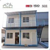 Adaptado de dos pisos de modificar el envío de contenedores prefabricados para la vida de la casa/oficina