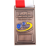 Médaille promotionnelle faite sur commande de récompense de rugby en métal (XD-0706-8)