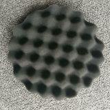 Roue de polissage en verre d'éponge colorée de cuir épais