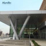 El revestimiento de aluminio revestido de la pared exterior del polvo cubre el panel de la fachada