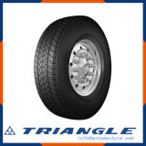 Triângulo 205/75r17,5 Garantia de Qualidade da Auto-estrada A China Factory Novo Padrão, rótulo UE, Pneus de Caminhão