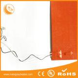 電気産業シリコーンのRubbeの温湿布12Vの適用範囲が広いシリコーンのヒーター