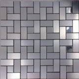 Großhandelsfabrik-Großverkauf-selbstklebende Mosaik-Aluminiumfliesen