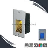 3W 240V escalera exterior Apliques LED, lámpara de pared