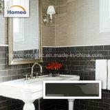Mattonelle di ceramica smussate del sottopassaggio delle mattonelle di ceramica del mosaico del Brown scuro della toilette