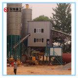 90 m3 per het Groeperen van het Uur Concrete het Mengen zich Installatie met de Mixer van de tweeling-Schacht van 1.5 M3