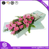 Роскошный Custom печать упаковки бумаги текстуры подарок площади цветы в салоне