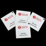 Антибактериальные Логотип печать с помощью салфетки