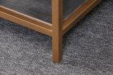 Rectángulo de Living mesa de café con cajones