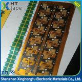 Nastro verde adesivo dell'animale domestico del silicone a temperatura elevata di alta qualità
