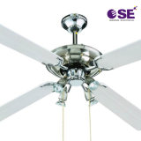High Quality Aluminum Color Most Popular National Ceiling Fan with Light