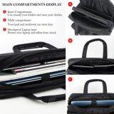 Grande épaule unisexe sacs à main de serviette d'ordinateur portatif de course de 18 pouces avec l'organisateur