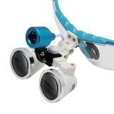 Zahnarzt-chirurgische binokulare zahnmedizinische Lupe und LED-Hauptlicht