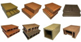 Prancha de madeira do revestimento do HDPE do plástico Decking/WPC da resistência do Mildew