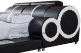 Modernes Bderoom Möbel-Leder-weiches Bett mit Speicherung