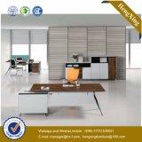 Bureau de réception de panneau de modestie d'argent de structure en métal (HX-TN167)
