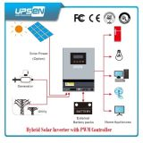 Off-Grid avec convertisseur de puissance solaire PV et le chargeur CA en entrée contrôleur MPPT intégré