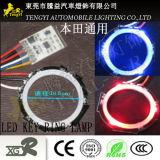 LED自動車のキーのスキャンナーのリングの穴ホンダのための内部の内部ランプライトa/B様式