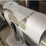 Marcação ce plotters de corte para corte padrão de design de vestuário