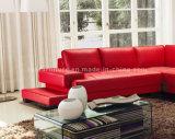 居間6055のための熱い販売の従来の部門別の革ソファー