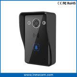 Timbre video del sistema de seguridad casero con la cámara de la visión nocturna de HD