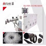 Única máquina da extrusora da tubulação dos PP do HDPE da RFA do parafuso